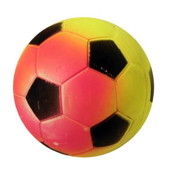Mjuk gummiboll, Fotboll
