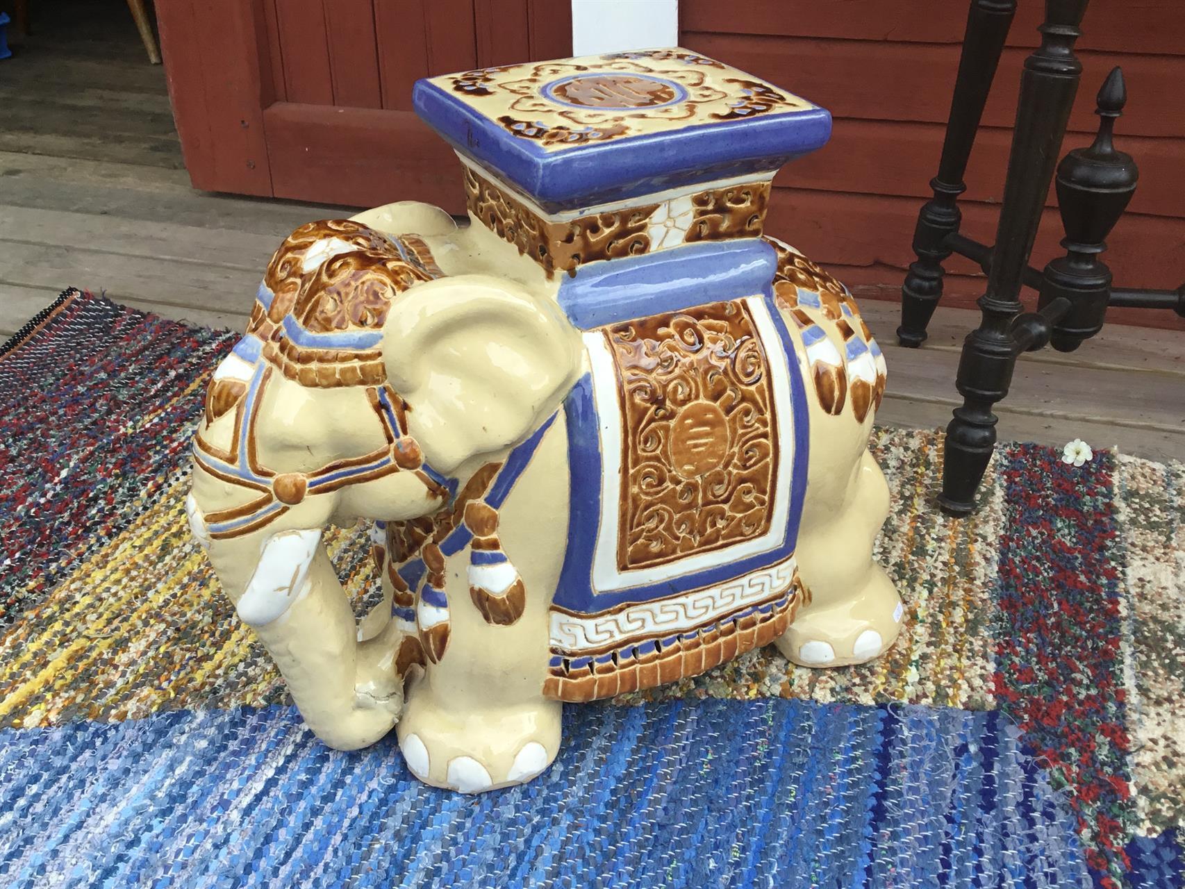 Elefant piedestal