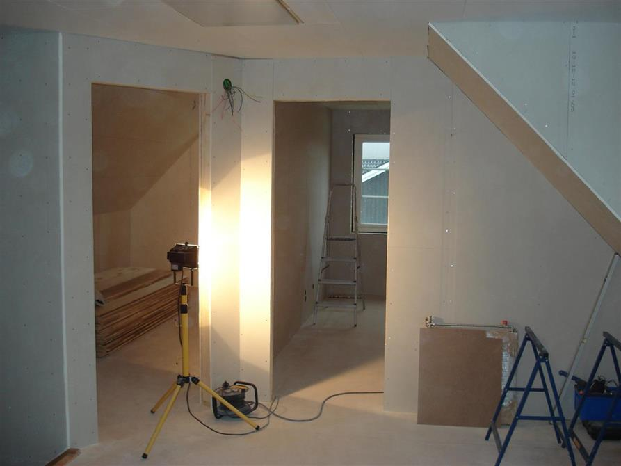 Inredning/målning övervåning villa 2