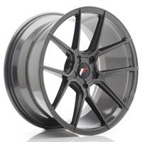 JR Wheels JR30 20x10 ET20-40 5H Blank Hyper Gray