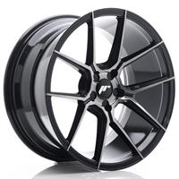 JR Wheels JR30 20x8,5 ET20-42 5H BLANK Black Brush