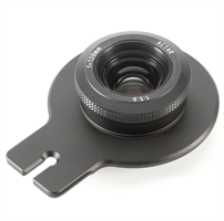 Lensplate with Cambo 120mm Lens (black finish)