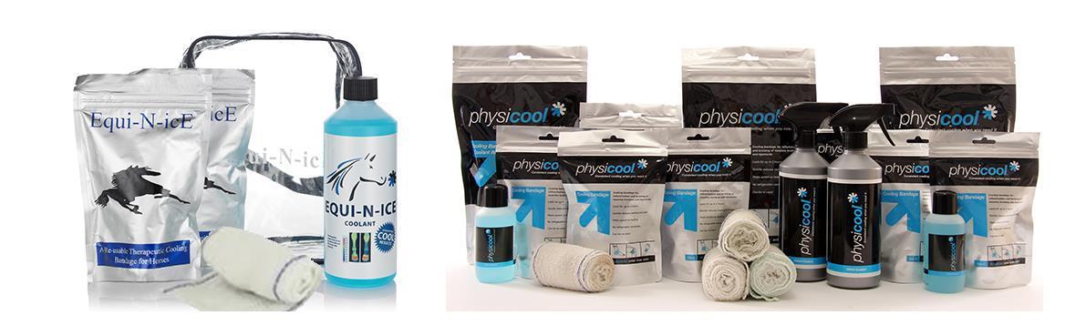 Physicool och Equi-N-ice