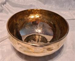 Blank klangskål 18,5cm