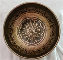 Klangskål Gravyr 13,5 cm