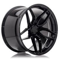 Concaver CVR3 22x9 ET10-52 BLANK Platinum Black