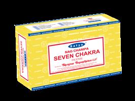 Seven Chakra  Satya rökelse
