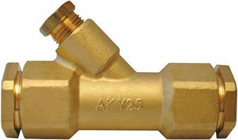 Y-koppling, vattentät, för 25 mm slang