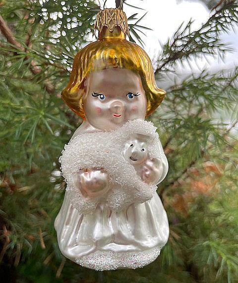 Engel med lam