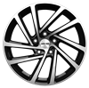 GMP WONDER 18X7,5 ET45 Black Diamond