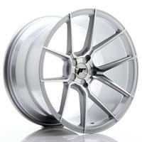 JR Wheels JR30 19x9,5 ET20-40 5H BLANK Silver Mach