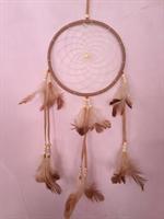 Drömfångare ljusbrun 16 cm
