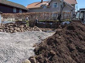 Restaurering av Naturstenmur