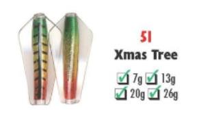 Tasmanian Devil #51 Christmas Tree 7 gram