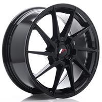 JR Wheels JR36 18x8 ET20-52 5H BLANK Gloss Black