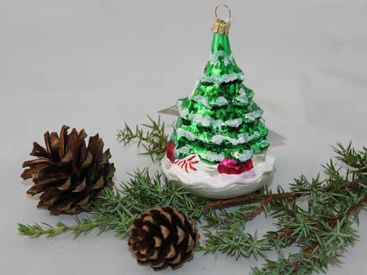 Juletre, grønt