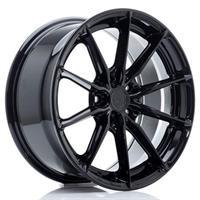 JR Wheels JR37 17x8 ET20-40 5H BLANK Gloss Black