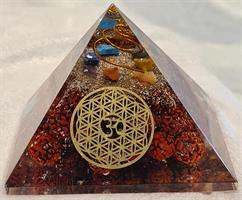 Orgonit pyramid 8 x 8 x 6