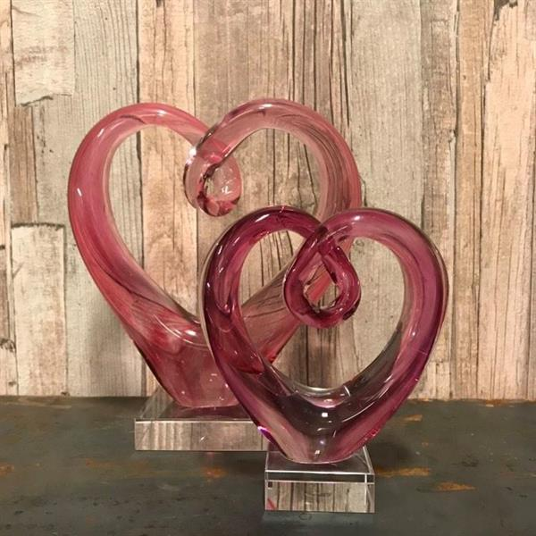 Hjärta rosa