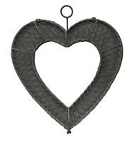 Hjärta med platt baksida
