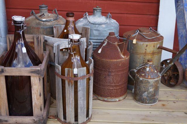 Flaskor och kannor