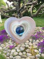 Modell Kombihjärta M blå