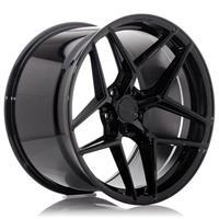 Concaver CVR2 20x9 ET20-51 BLANK Platinum Black
