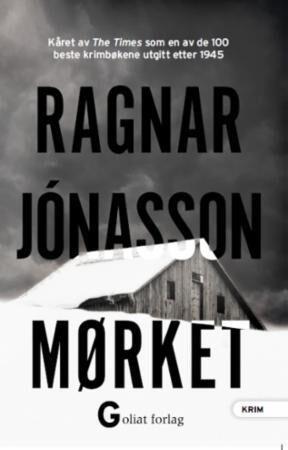 """Mørket"" av Ragnar Jonasson i suksesserien om Hulda Hermannsdóttir."