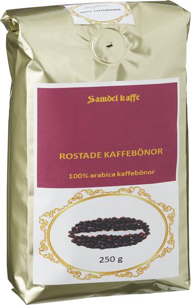 Rostade kaffebönor, Yirgaceffe 250g