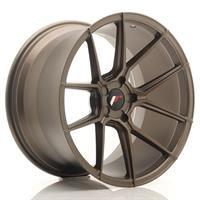 JR Wheels JR30 20x10 ET20-40 5H BLANK Matt Bronze