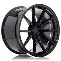 Concaver CVR4 20x9 ET20-35 BLANK Platinum Black