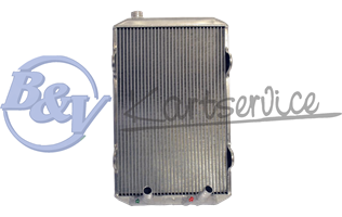 Radiator KE 395x240x30V.DOUBLE RECIRCULE