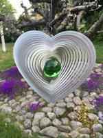 Modell Kombihjärta L grön