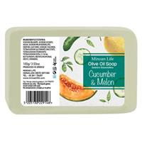 Agurk & Melon såpestykke 100 gr
