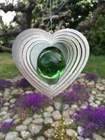 Modell Kombihjärta S grön