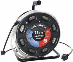 LED-SLINGA BYGG 25 M MED VINDA, 300W, 26250LM, IP44