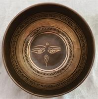 Klangskål Gravyr 12,5 cm