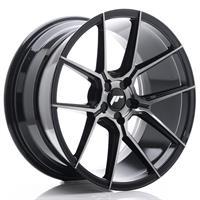 JR Wheels JR30 20x11 ET20-30 5H BLANK Black Brush