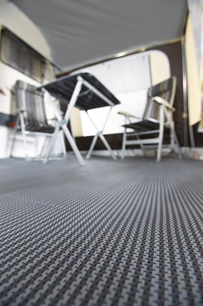 Forteltsmatte i PVC 300 x 300 cm