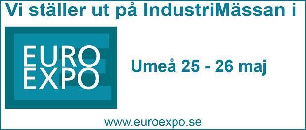 EuroExpo Mässan 25-26/5