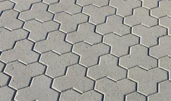 Mosaiken Marksten Klöversten, Normalsten 100mm Naturgrå