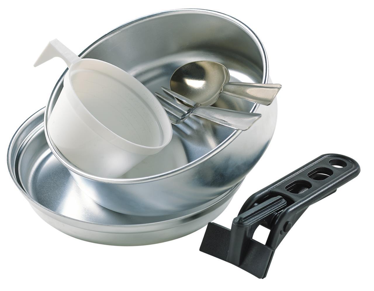 Kokekarsett i aluminium. 6 deler