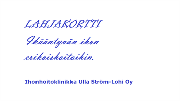 Avoin Lahjakortti, Lappeenrannan City-Kylpylään