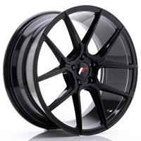JR Wheels JR30 20x10 ET20-40 5H BLANK Glossy Black