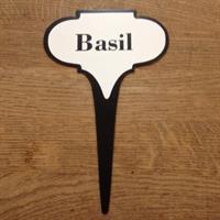 Örtskylt ifrån IB Laursen Basil Basilika