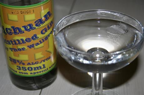 Sichuan Distilled Gin by Thor Wallgren