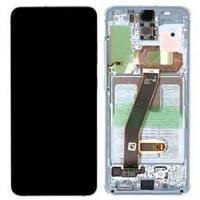 Samsung Galaxy S20 (SM-G981) skjerm - Hvit