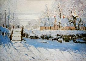 Puslespill Monet, The Magpie, 1000 brikker