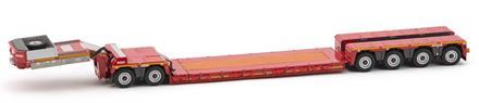 WSI Nooteboom Lowloader 4 axle + Dolly 2 axle (NY) (TP)