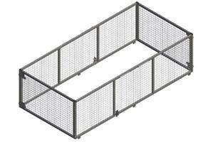 Netting grind 320x150x90, ny type